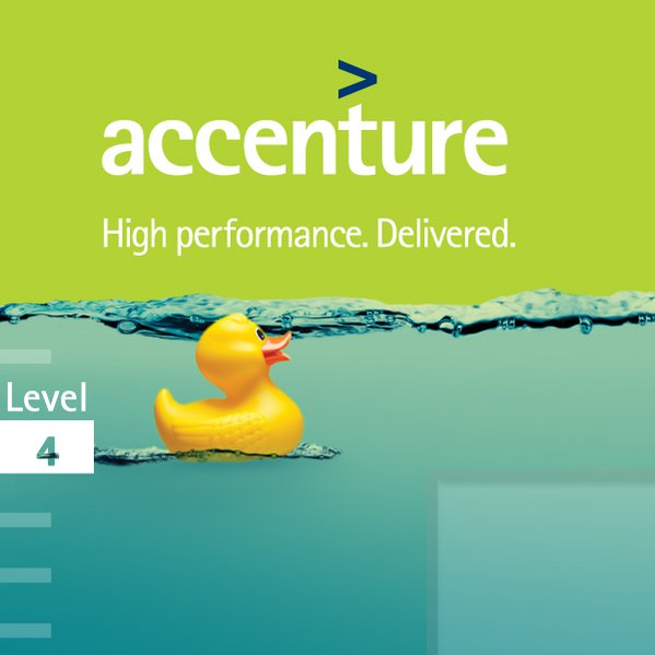 accenture Innovation Game | Webdesign, Appgrafik
