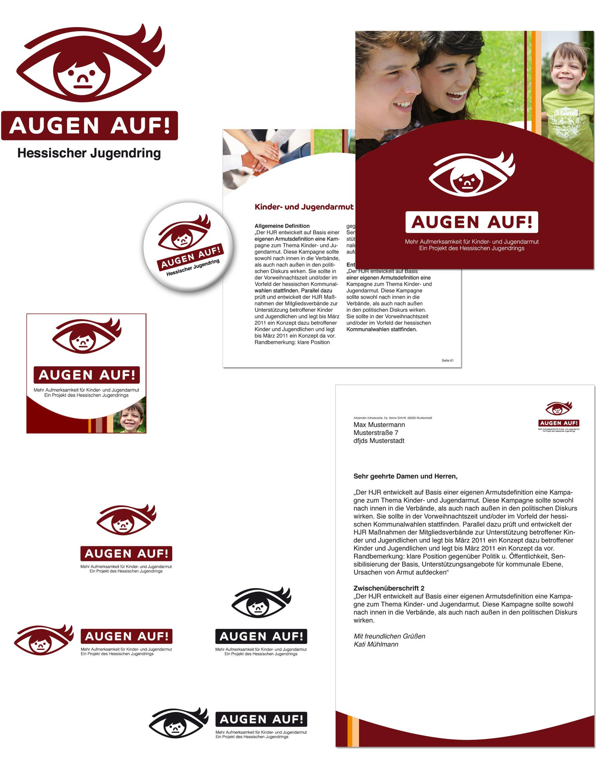 Augen Auf Grafik Design aus Berlin