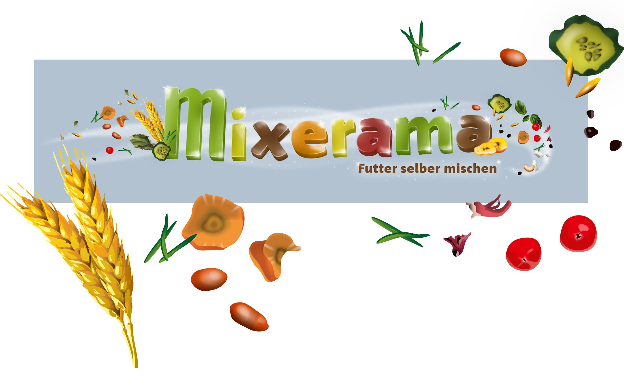 mixerama | Illustration, Logo Design